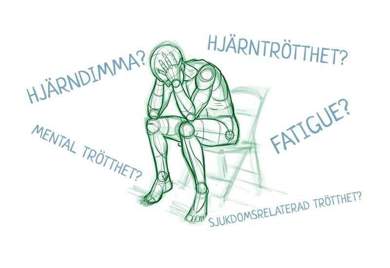plötslig akut trötthet