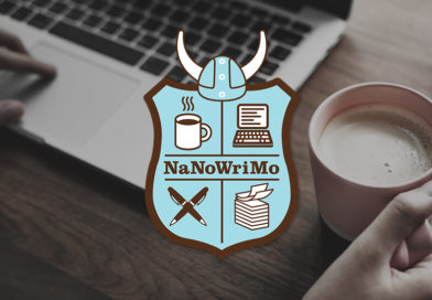 Den här månaden deltar jag i NaNoWriMo